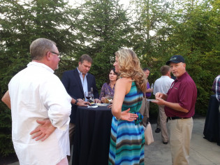 2015 Aviation Conference reception, Glade Springs