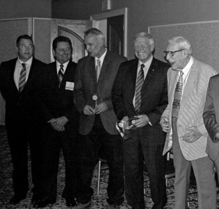 Hall of Fame Induction Ceremony: Rick Rock, Tom Cochran, Mike Pizzino, Jon McBride, Kemp McLaughlin