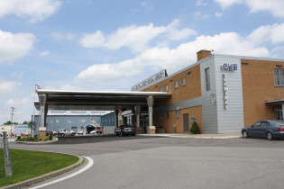 Entrance and canopy project - North Central West Virginia Airport - CKB (courtesy of Thrasher Engineering)